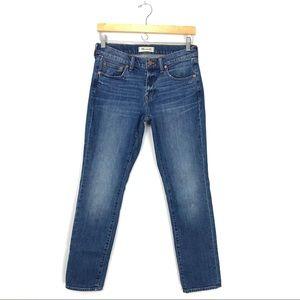 Madewell Slim Boyjean in Walton Wash Blue Jeans A0